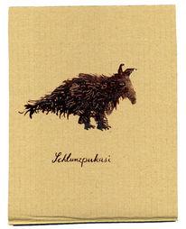 Krafttier, Ameise, Fell, Zeichnungen