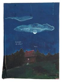 Waldrand, Abend, Schriftsteller, Zeichnungen