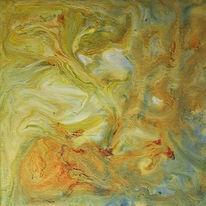 Acrylmalerei, Abstrakt, Tinte, Supernova