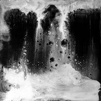 Bunt, Supernova, Spontan, Acrylmalerei