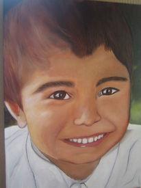 Ölmalerei, Junge, Malerei,