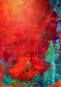 Farben, Natur, Stimmung, Acrylmalerei