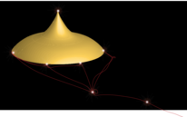 Ballon, Nacht, Fantasie, Fliegen helm