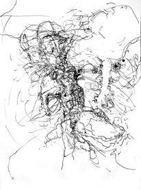 Tusche, Federzeichnung, Zeichnungen