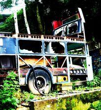 Bus, Fotografie, Stop