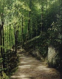 Realismus, Felsen, Wald, Natur