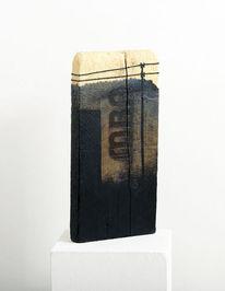 Finden, Gegenwartskunst, Zeichnung, Holz