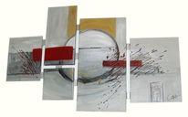 Malen, Handemalt, Kunstwerk, Struktur
