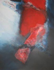 Merletto, Mischtechnik, Acrylmalerei, Pigmente