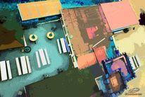 Abstrakt, Gastronomie, Idaturm, Digital art
