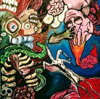 Tintenfisch, Rezept, Terror, Kopf