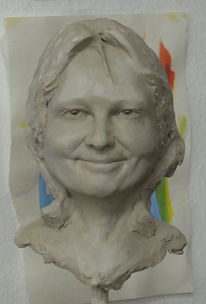 Skulptur, Blick, Gesicht, Ausdruck