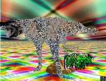 Metalisch, Hund, Digitale welt, Internet
