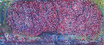 Frühling, Kirschblüte, Abstrakt, Vier jahreszeiten