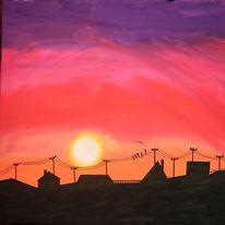 Stimmung, Wetter, Acrylmalerei, Malerei