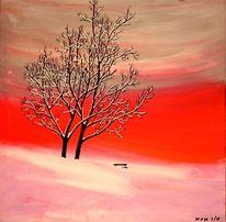 Winterabend, Stimmung, Wetter, Malerei