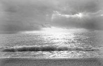 Abendstimmung, Strand, Meer, Andalusien