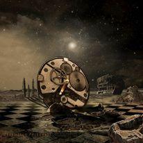 Zerstörung, Stern, Zeit, Nova