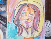 Farben, Model, Zeichnen, Acrylmalerei