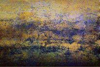 Teich, Gebirgsfluss, Himmel, Gras
