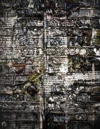 Zeitung, Panik, Zweifel, Grillen