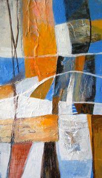 Malerei acryl, Mischtechnik, Tusche, Abstrakt