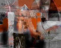 Mischtechnik, Photoshop, Abstrakt, Digitale kunst
