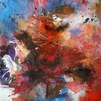 Bewegung, Abstrakte malerei, Moderne kunst, Abstrakter expressionismus
