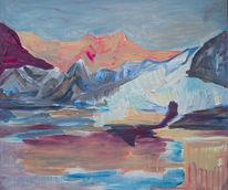 See, Stille, Berge, Landschaft
