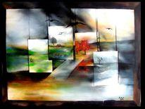Jahreszeiten, Malerei