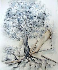 Baum, Zeichnung, Zeichnungen,
