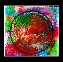 Farbmischung, Kraft, Schauspiel, Ewigkeit