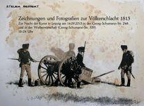 Historienmalerei, Zeichnung, Befreiungskriege, Frankreich
