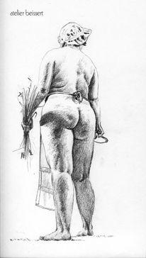 Rücken, Ernte, Gesäß, Rubens