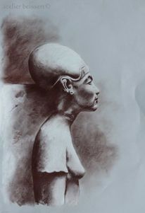 Ägypten, Frau, Nofretete, Dynastie