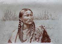 Frau, Arapaho, Geschichte, Alte fotografie
