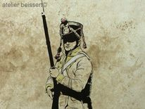 Soldat, Uniform, Napoleon, Grenadier