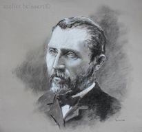 Frankreich, Portrait, Niederlande, Zeichnung