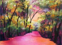 Himmel, Baum, Landschaft, Blätter