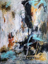 Acrylmalerei, Ausdruck, Malerei, Gefühl