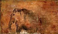 Mammut, Felsen, Steinzeit, Malerei