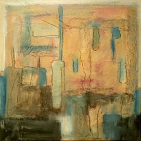 Abstrakt, Zufall, Malerei,