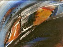 Acrylmalerei, Abstrakt, Malerei