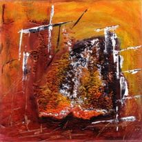 Abstrakt, Acrylmalerei, Mix, Malerei