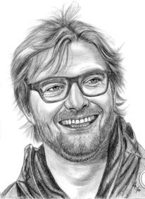 Portrait, Bleistiftzeichnung, Prominent, Zeichnungen