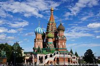 Russland, Kathedrale, Rot, Kirche