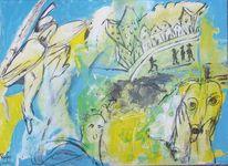Türkis, Rufer, Gelb, Expressionismus
