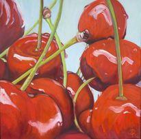 Rot, Obst, Kirsche, Früchte