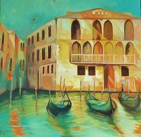 Stadt, Venedig, Italien, Gondel