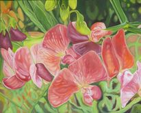 Pflanzen, Wicken, Malerei